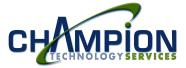 Champion Technology Services, Inc.